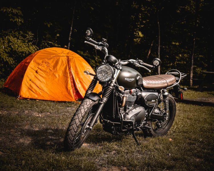 How to plan the perfect motorcycle camping trip